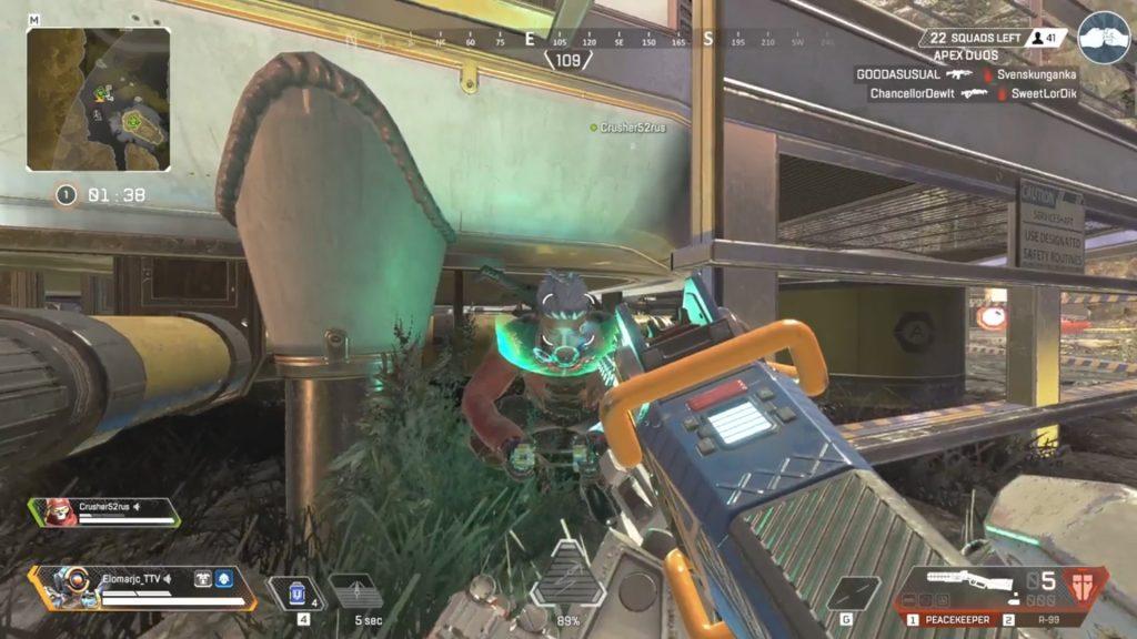 【エグいw】ドローンを操作しているクリプトを発見したから・・・(エペ速)