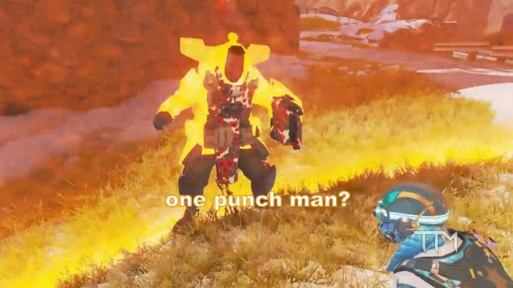 【APEX】武器なし部隊同士の格闘バトルが超楽しそうwww(エペ速)