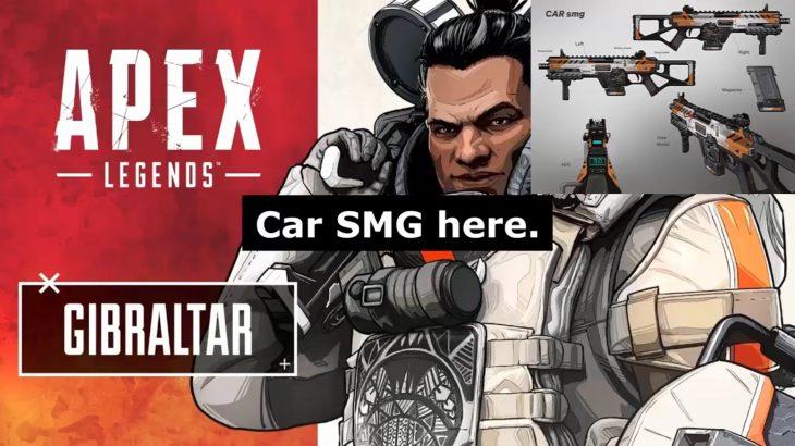 【APEX新武器】エーペックスの各キャラクターが「Car SMG」「EPG」「Volt SMG」について喋る音声がリーク!!(エペ速)