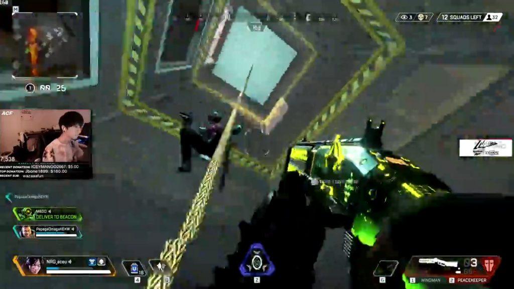 プロゲーマー「Aceu」のピースキーパーの撃ち方が上手すぎるwwww(エペ速)