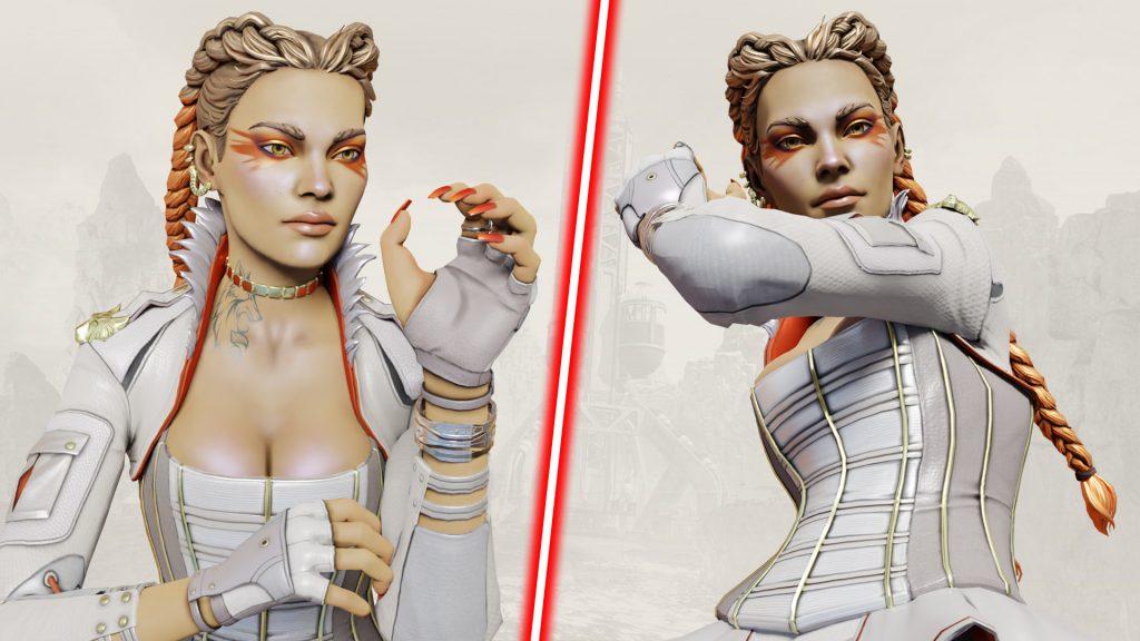 ローバのHDモデル画像が新たにリークされたぞ!首には「狼」のタトゥーが・・・!!(エペ速)