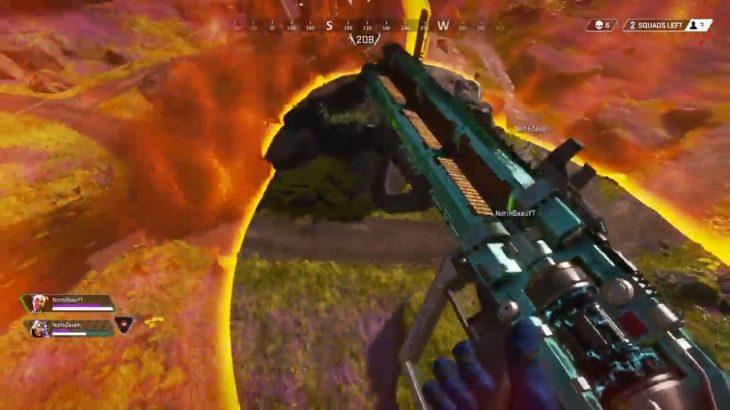 【APEX】最後の敵をトリックショットで倒す「魅せプレイ」がコチラ!!(エペ速)
