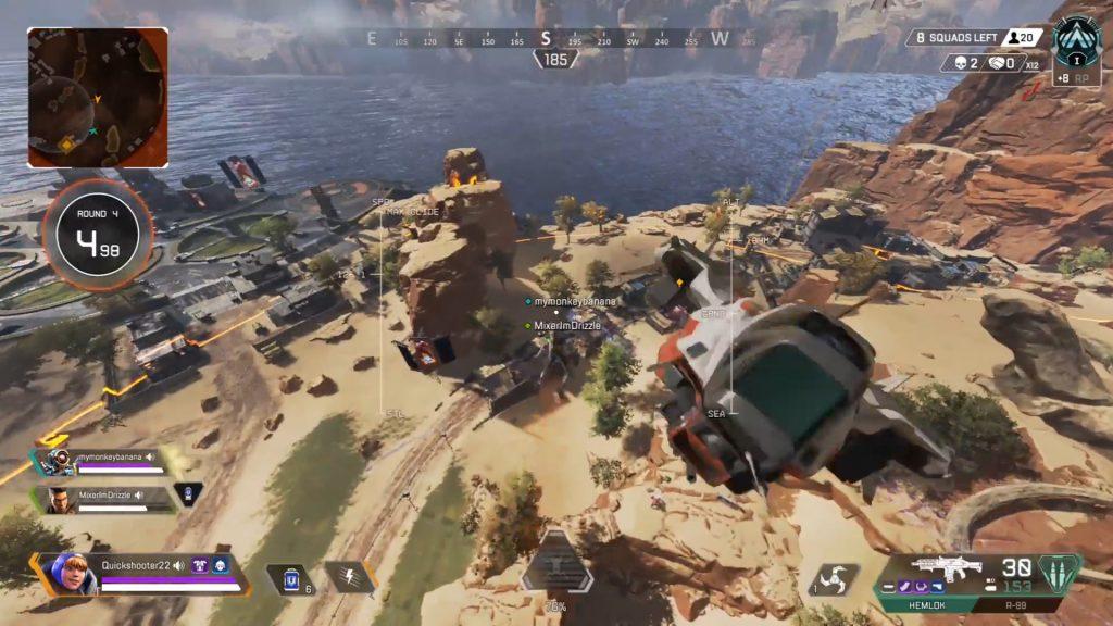 【悲しい】ジャンプタワーを使って味方の所へ飛ぼうとした結果・・・(エペ速)