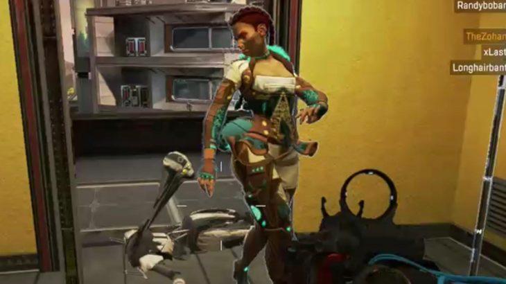 【APEX謎バグ】ローバのフィニッシャーを受けて首がとんでもないことになるレヴナント(エペ速)