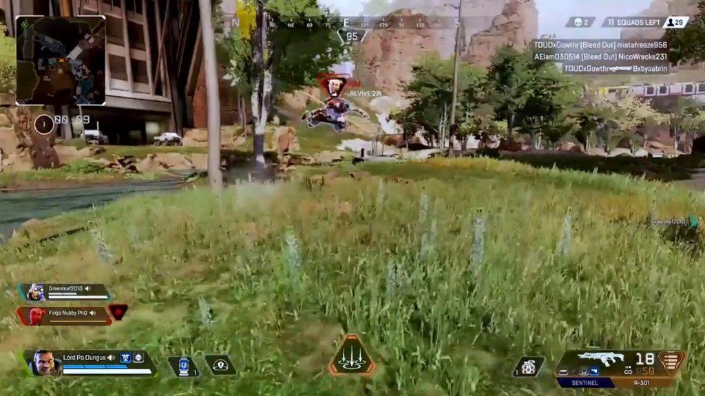 【APEX】カエルのように飛び跳ねるライフライン(エペ速)