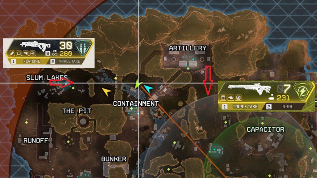 【APEX】シーズン6からキングスキャニオンの地下保管庫に確定で出現する「金武器」が変更されたぞ!場所と全武器リストが分かるまとめ画像あり(エペ速)