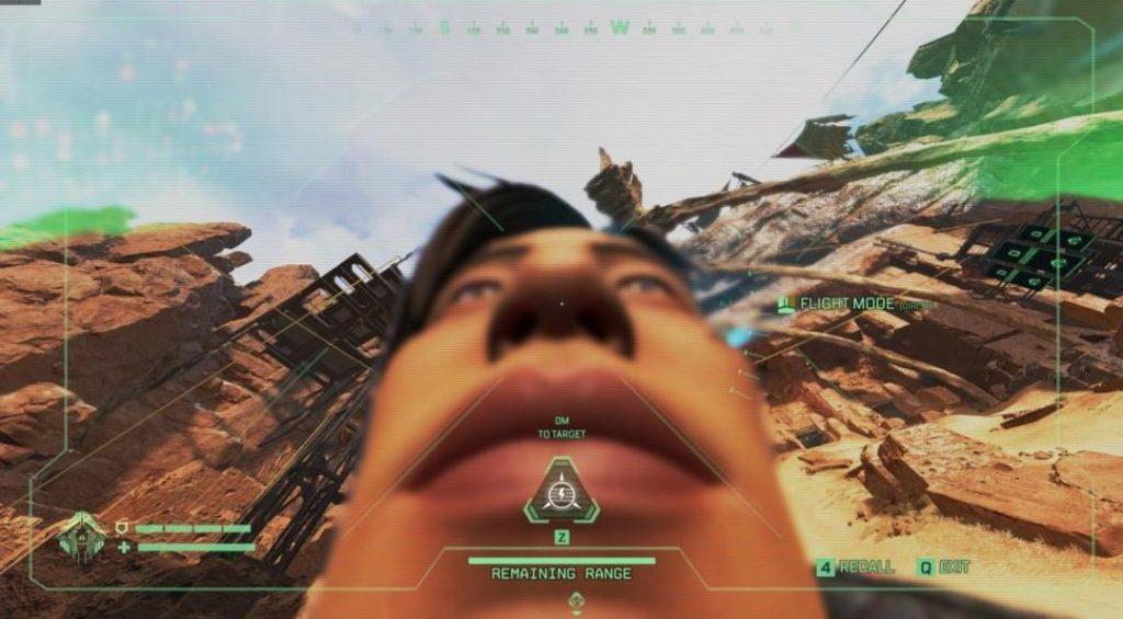 ドローンでクリプトの顔を下から見るとこうなる(エペ速)