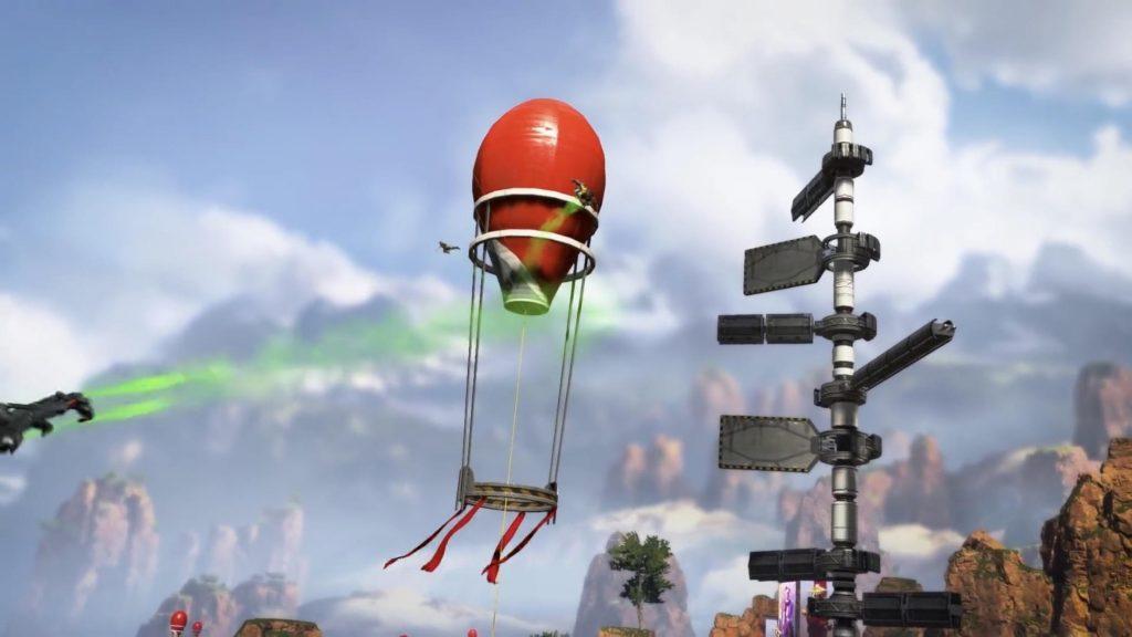 【APEX】ワールズエッジにある「ジャンプタワー」で飛べる範囲をまとめた画像がコチラ!(エペ速)