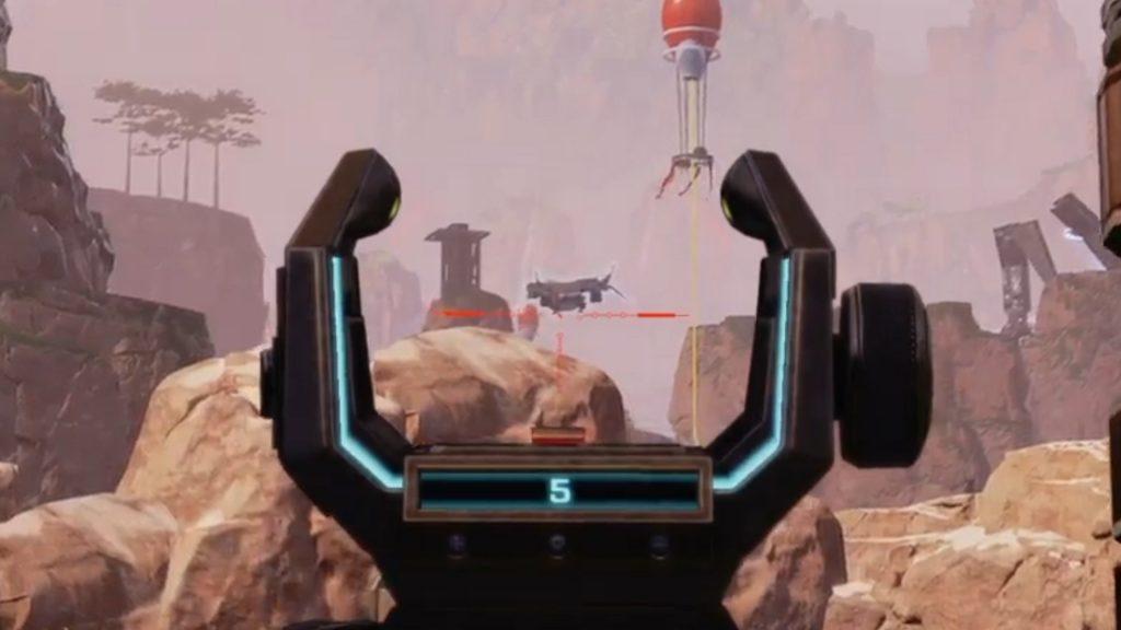 リスポーンしている敵を遠距離センチネルで撃ち抜いた時の海外APEXプレイヤーの反応(エペ速)