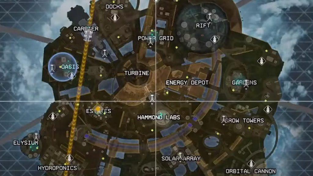 【APEX】シーズン7の新マップ「オリンパス」のマップ画像がリーク!!(エペ速)