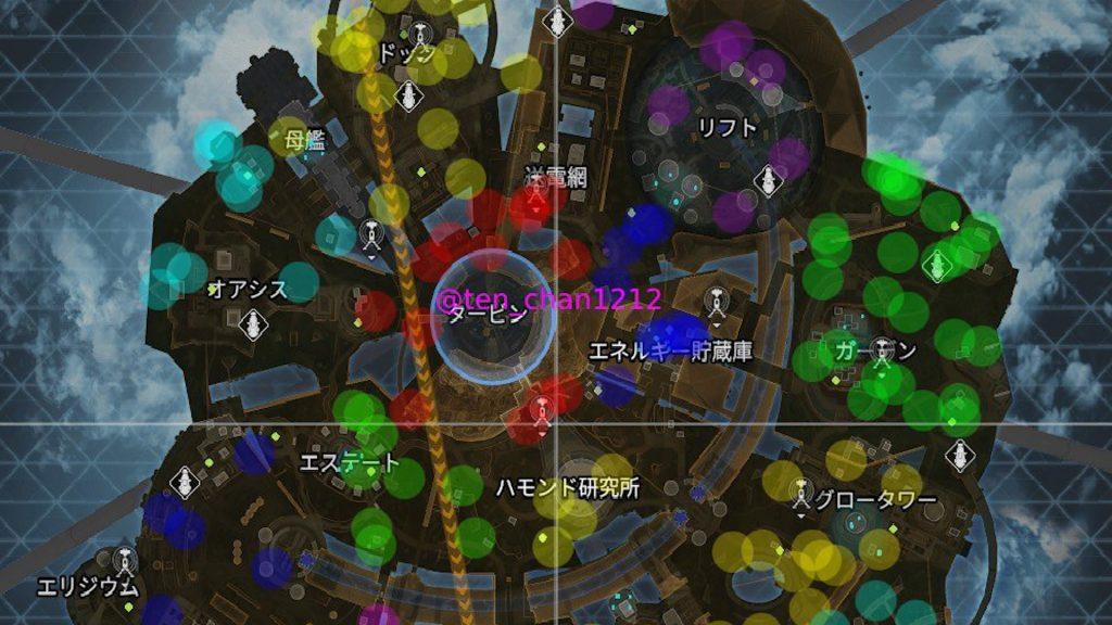 【APEX】新マップ「オリンパス」の終盤サークルパターンを177箇所まとめた画像がコチラ!!(エペ速)