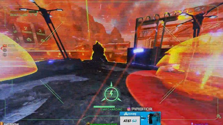 【APEXプレデター】クリプトがEMPで敵のジブラルタルのドームを2つ破壊→ジブラルタルがアルティメットを投げて勝利する完璧な作戦