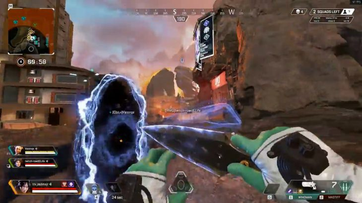 【APEX】ホライゾンとレイスでできる敵1人を楽に倒せるコンボ技がコチラwww