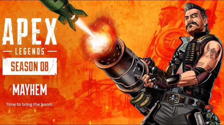 【速報】APEXシーズン8の新キャラは「ヒューズ」で決定!新武器は「30-30」というレバーアクションライフル!!
