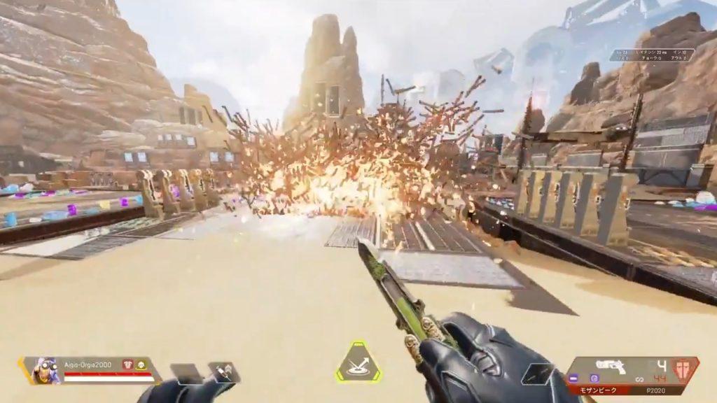 【APEX】射撃訓練場で「ランパートの増幅バリケードが無限に破壊されるバグ」に遭遇した動画がヤバいwww