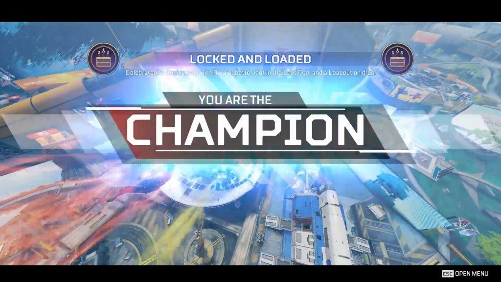 【APEX】ゲーム開始20秒でチャンピオンが取れてしまった!?