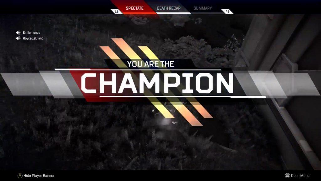 【APEX】リングダメージで全部隊倒されるもチャンピオンを獲得するローバ部隊