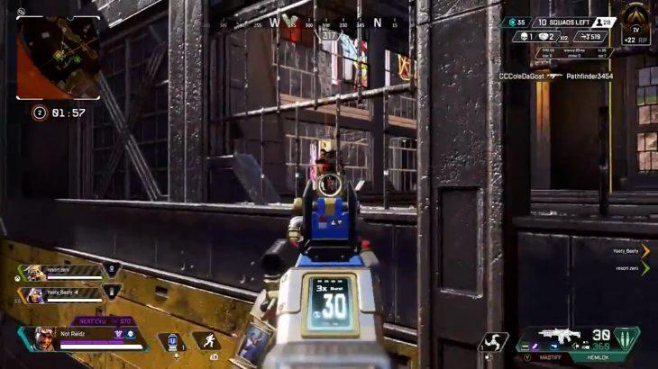 【APEX】ケージ上の敵部隊を倒す方法