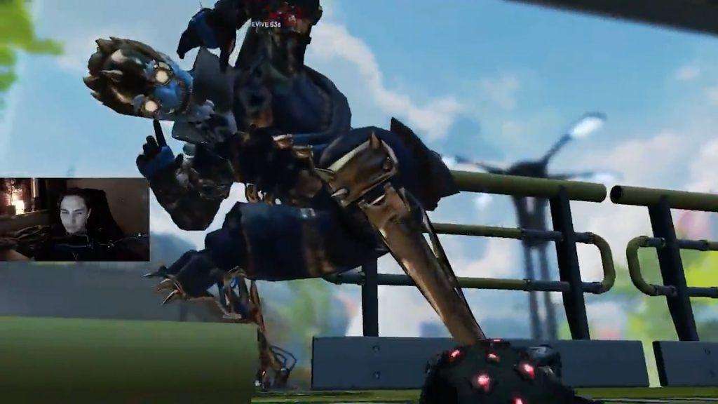 【APEX】フィニッシャーの爆発でマップの底に落ちるオクタン