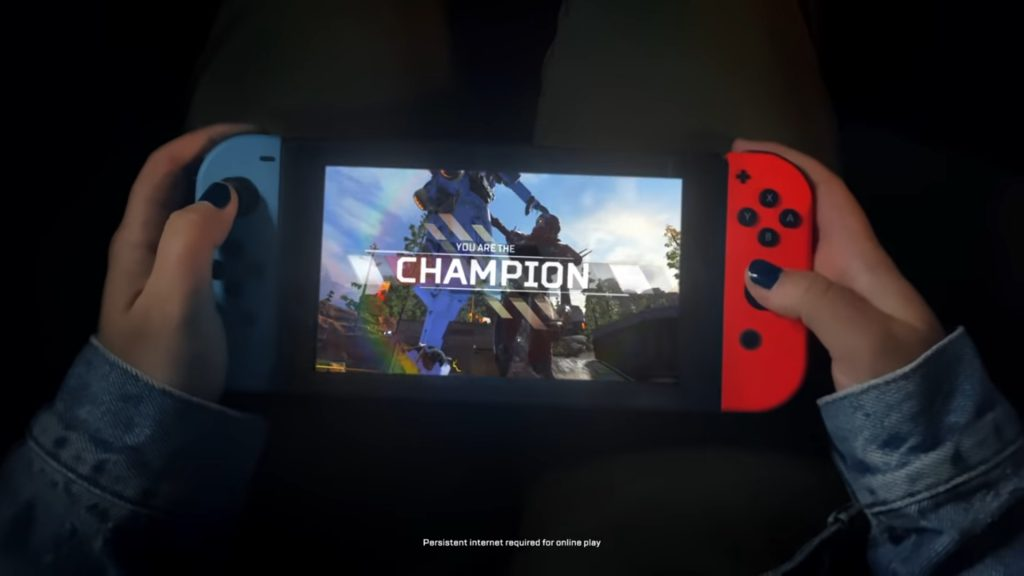 【速報】Nintendo Switch版エーペックスレジェンズのダウンロードが可能に!!!