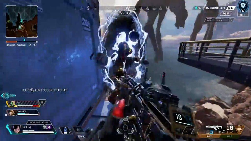 【APEX】敵部隊を絶望的な状況に追い込んだ後にポータルトラップで・・・
