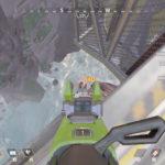 【APEX】センチネルから逃げてマップ外に落ちたバンガロールさんが落下途中にセンチネルで抜かれる動画