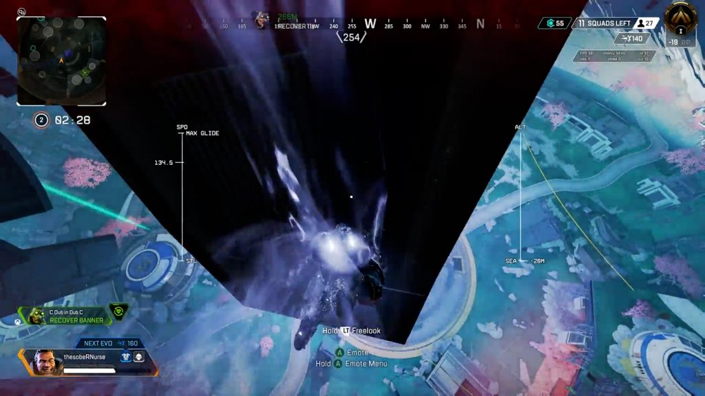 【APEX】フェーズランナーで逃げようとしたジブラルタルの悲しい事故映像
