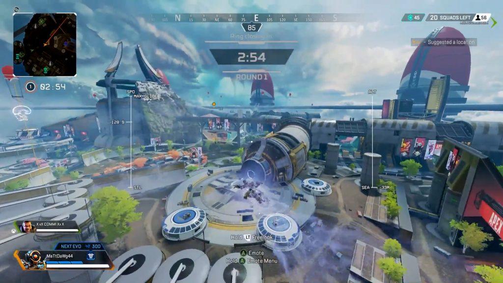 【バグ】APEXプレイヤー「ジャンプタワーで飛んだらいきなりチャンピオンになった」
