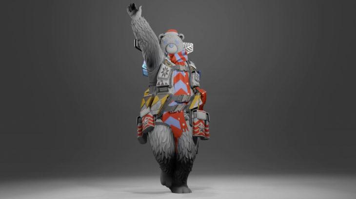 【APEX】もしも白熊スキンのジブラルタルがローバのフィニッシャーをするとこうなる
