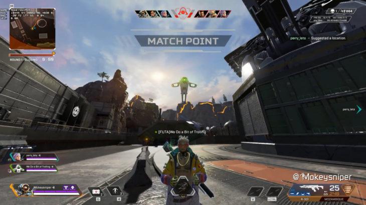 【APEX】アリーナでクリプトのドローンにグラップリングをするととんでもない奇襲攻撃ができる