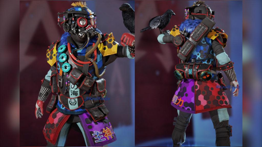 【APEX】次のイベントの無料報酬「ブラッドハウンド」と「EVA-8」鯉スキン使用時のゲームプレイ動画がリーク!!