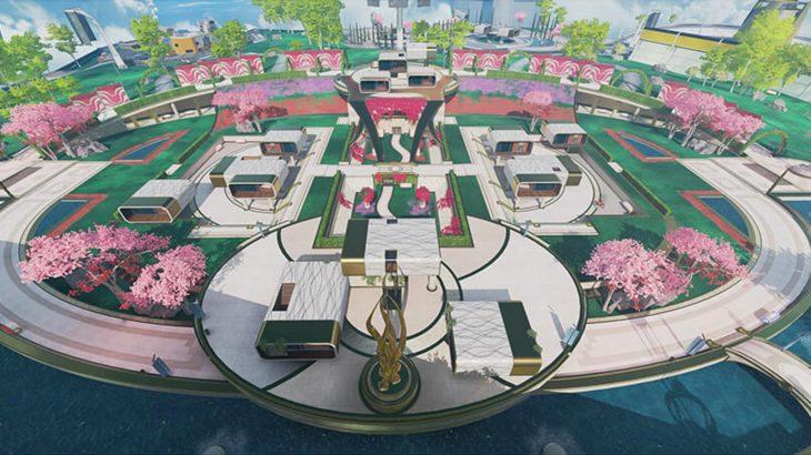 【APEX】アリーナモードのマップローテーションに「ガーデン(オリンパス)」が追加されたぞ!!