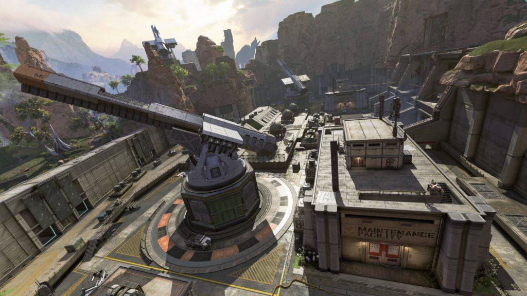 【APEX】アリーナモードのマップローテーションが「ガーデン」から「砲台」に変更されたぞ!