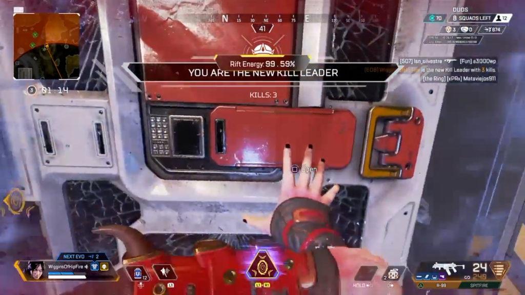 【APEXレイス】部屋の中に居る敵をポータルで閉じ込める作戦