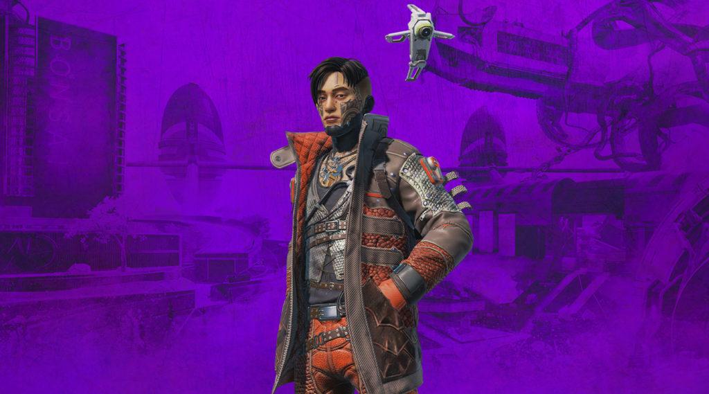 【APEX】『クリプト』のTwitch Prime限定スキンが登場!!「ゲーム内の見た目」や「入手方法」など