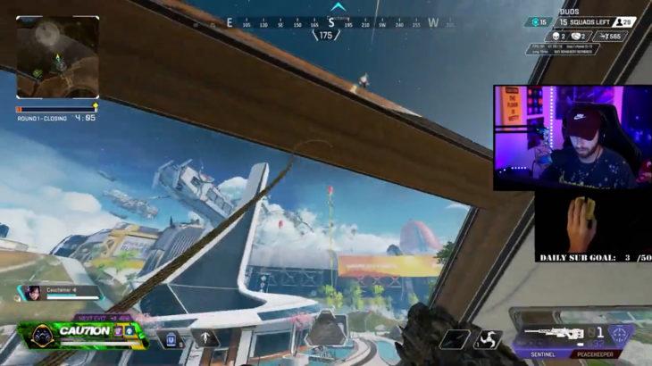 【APEX】パスファインダー使い「Cau7ioN」さんによる、色んなグラップリングの使い方動画